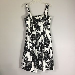 WHBM Graphic Floral Dress